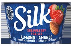 Strawberry Almond Yogurt Alternative