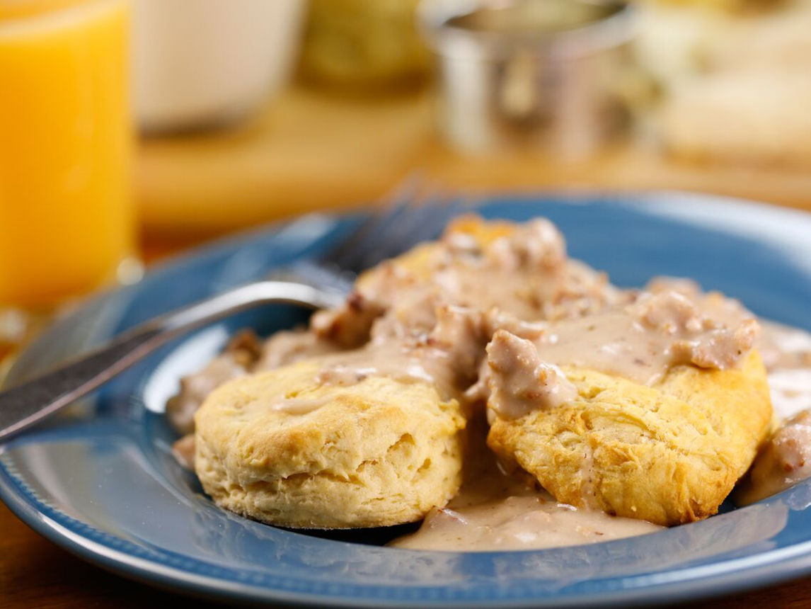 Silk Biscuits and Gravy