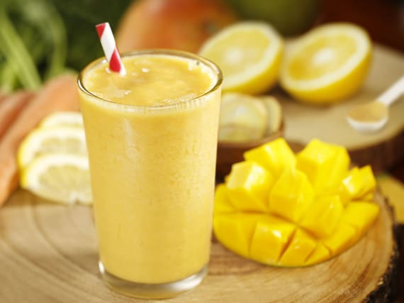 Ginger Mango Carrot Smoothie | Silk