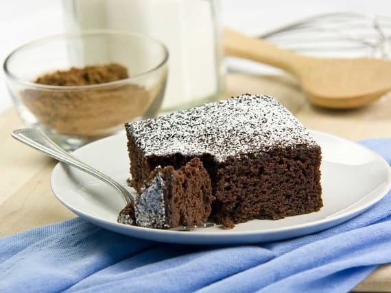 Silk Almond Milk Snack Cake Recipe
