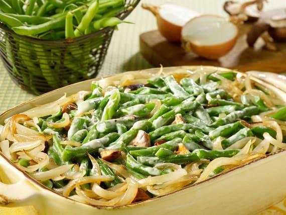 Green Bean and Mushroom Casserole