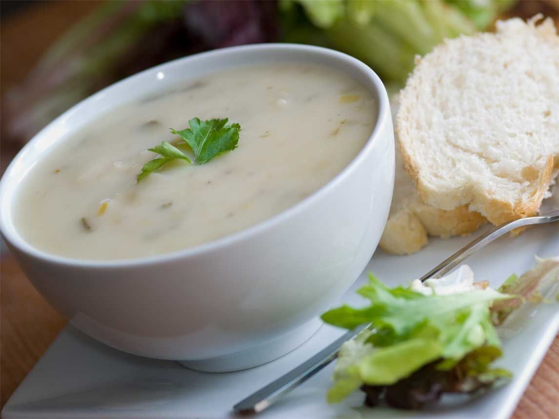 Silk Recipes: Potato Leek Soup | Silk