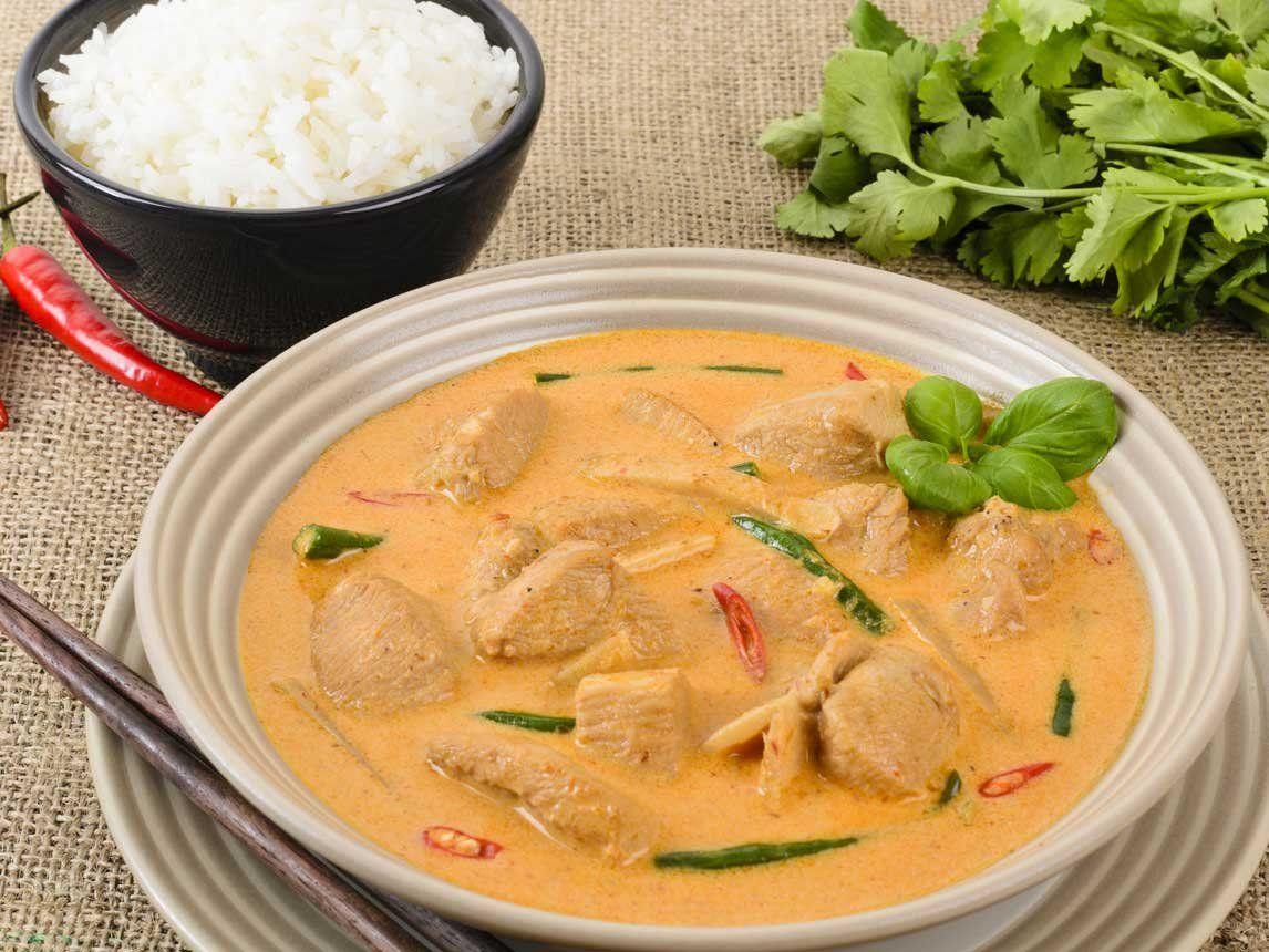Silk Recipes: Thai Red Curry | Silk