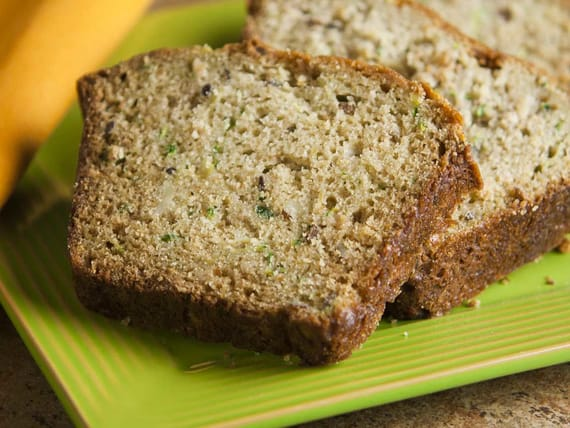 Honey Zucchini Bread