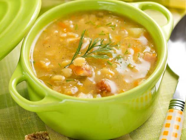 Autumn Vegetable Soup with Tapioca