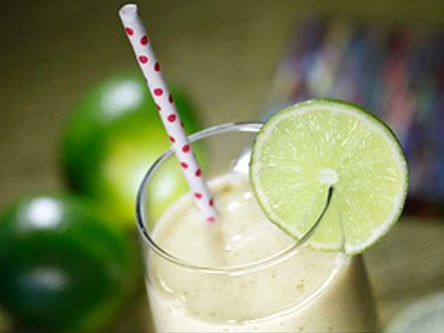 Banana Mint Slush