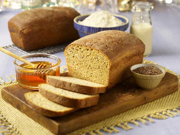 Honey Flax Seed Bread