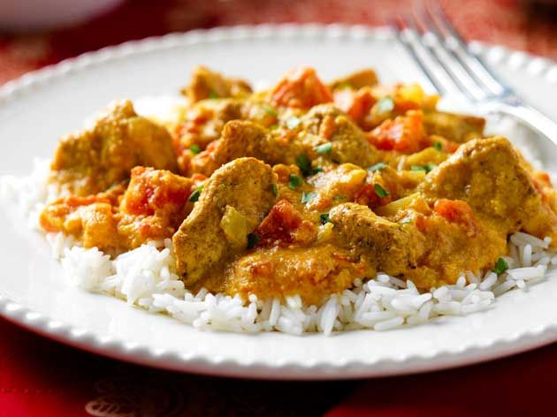 Indian Spiced Curry
