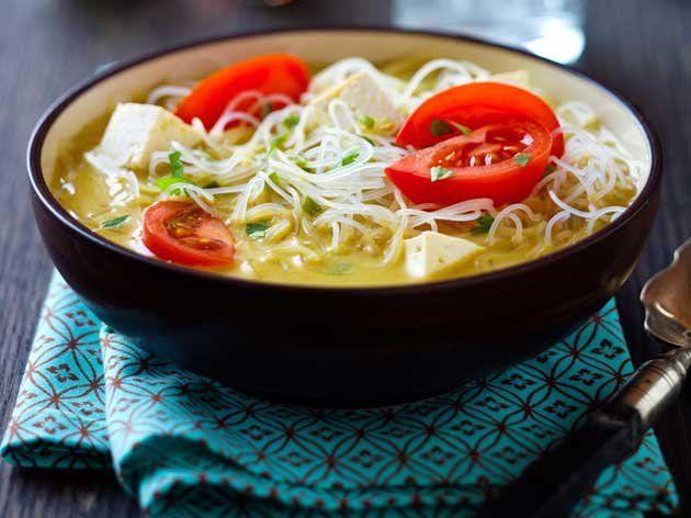 Coconut Curry Noodle Bowl