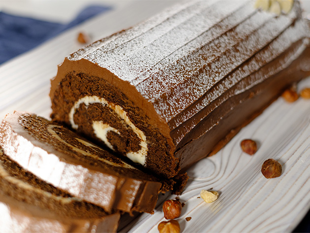 Silk Yule Log Recipe