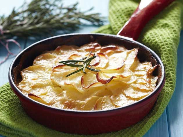 Three Cheese Gratin Dauphinois