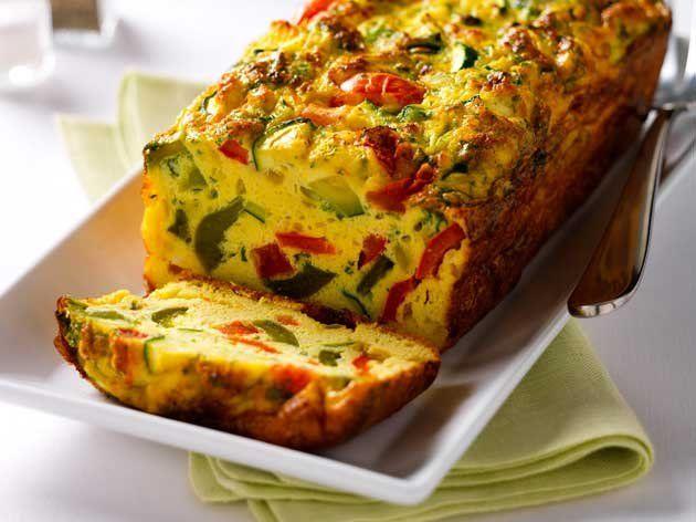 Vegetable Omelette Terrine