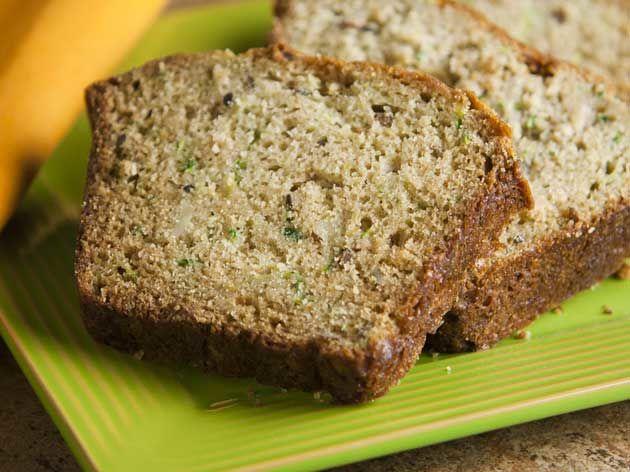 Honey Zucchini Bread